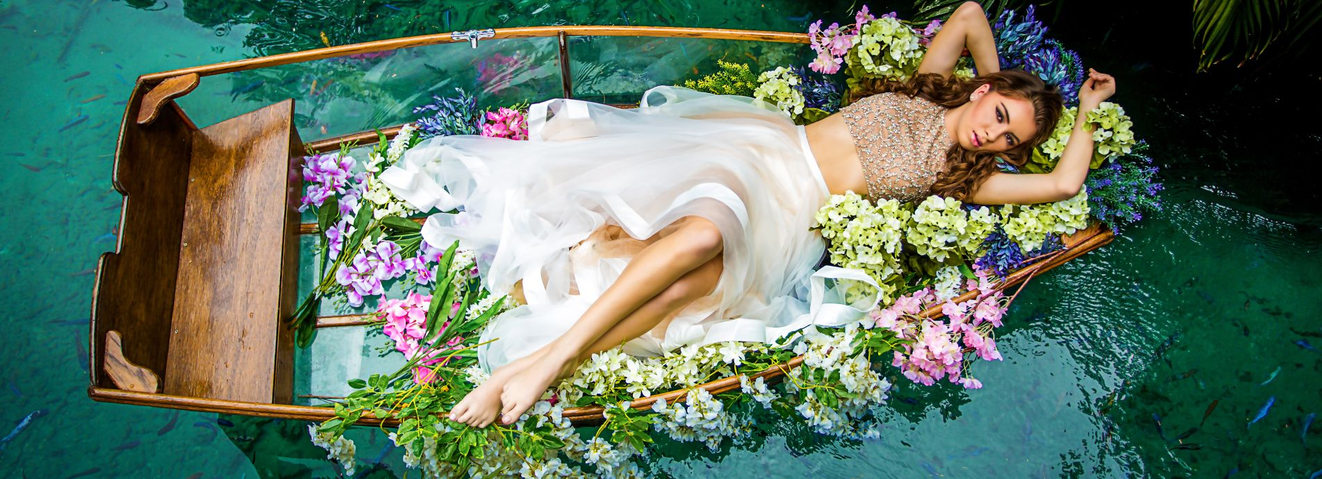 quinceanera photography canoe themes