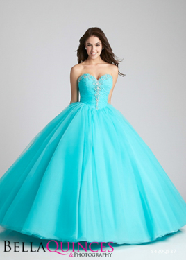 allure Q537F Aqua bella quinces photography