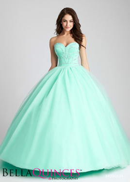 allure Q539F LtGreen bella quinces photography