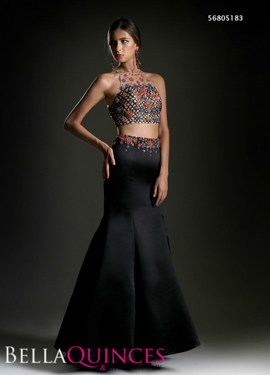5183 prom dress black bella quinces photography