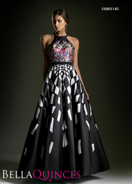 5185 prom dress black bella quinces photography