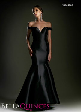 5187 prom dress black bella quinces photography