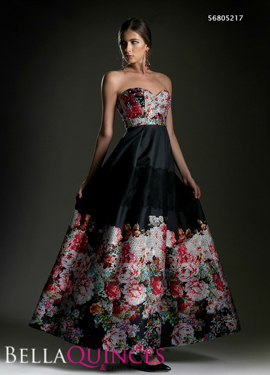5217 prom dress black bella quinces photography