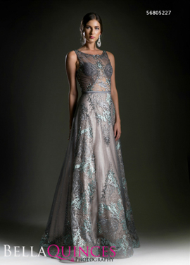 5227 prom dress grey bella quinces photography