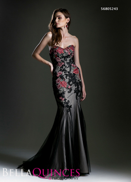 5243 prom dress black bella quinces photography
