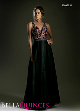 5251 prom dress black bella quinces photography