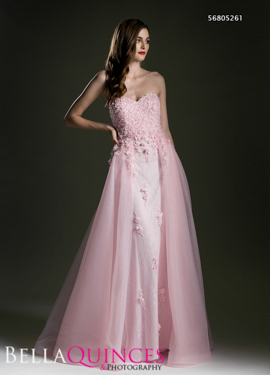 5261 prom dress pink bella quinces photography