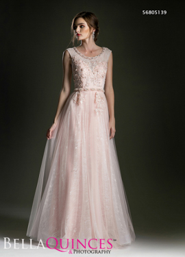 5139 prom dress blush bella quinces photography