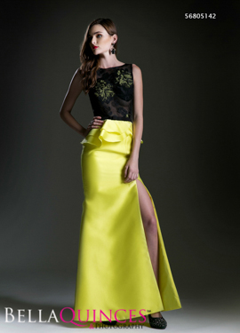 5142 prom dress black lime bella quinces photography