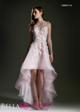 5153 prom dress blush bella quinces photography