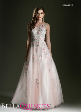 5157 prom dress blush bella quinces photography