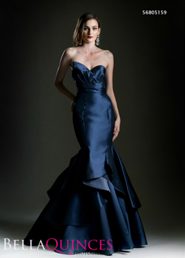 5159 prom dress navy bella quinces photography