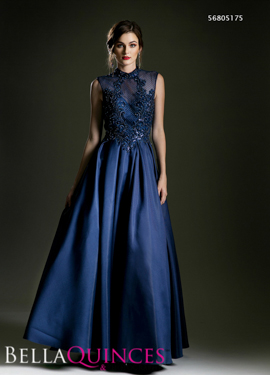 5175 prom dress navy bella quinces photography
