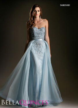 5081 prom dress blue bella quinces photography