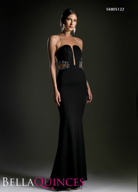 5122 prom dress black bella quinces photography