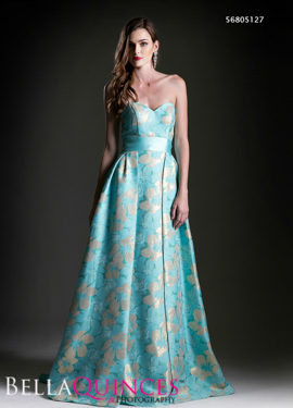 5127 prom dress turq bella quinces photography