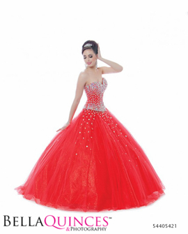 5421 bonny quinceanera red bella quinces photography