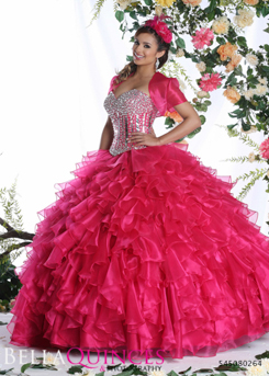 80264AL qbyvinci fushia bella quinces photography