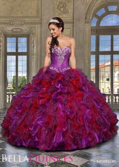80245AL qbyvinci purple fushia bella quinces photography