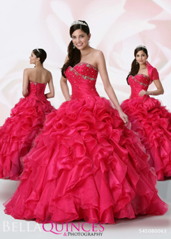 80063AL qbyvinci hot pink bella quinces photography