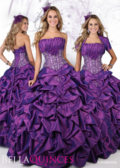 80094AL qbyvinci purple bella quinces photography