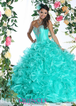 80163AL qbyvinci teal bella quinces photography
