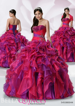 80044AL qbyvinci fushia purple bella quinces photography