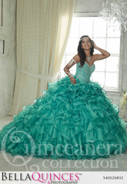 26832 teal quinceanera collection bellaquinces photography