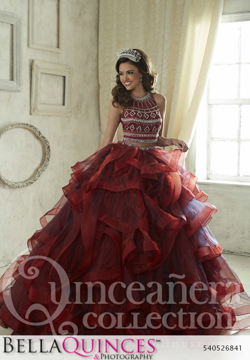 26841 burgundy quinceanera collection bellaquinces photography