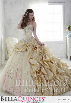 26810 gold quinceanera collection bellaquinces photography