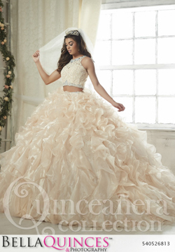 26813 champagne quinceanera collection bellaquinces photography