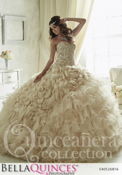 26816 gold quinceanera collection bellaquinces photography