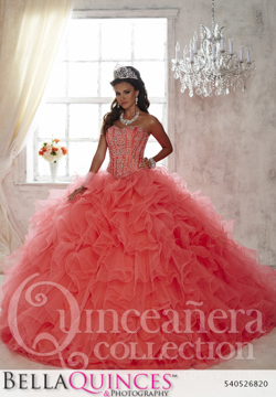 26820 coral quinceanera collection bellaquinces photography