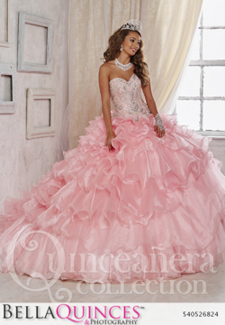 26824 pink quinceanera collection bellaquinces photography