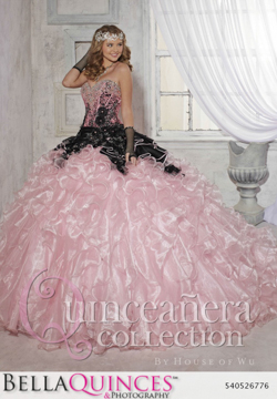 26776 blush black quinceanera collection bellaquinces photography