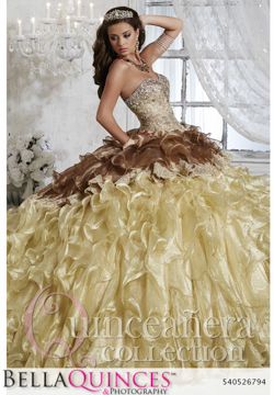 26794 gold quinceanera collection bellaquinces photography