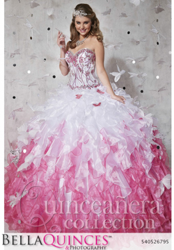 26795 white fushia quinceanera collection bellaquinces photography