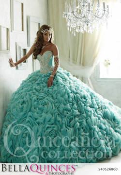 26800 teal quinceanera collection bellaquinces photography