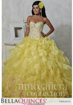 26731 yellow quinceanera collection bellaquinces photography