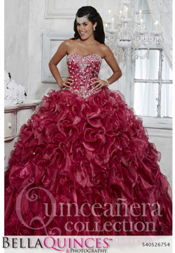 26754 burgundy quinceanera collection bellaquinces photography