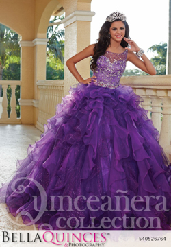26764 violet quinceanera collection bellaquinces photography