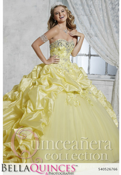 26766 yellow quinceanera collection bellaquinces photography