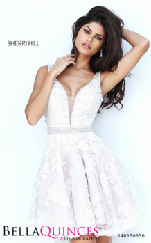 50656 prom glam white bella quinces photography