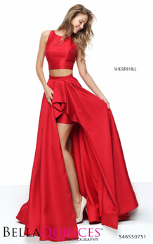 50751 prom glam red bella quinces photography