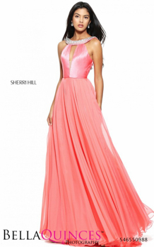 50988 prom glam coral bella quinces photography