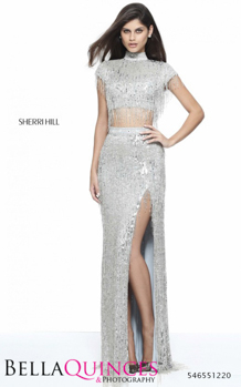 51220 prom glam silver bella quinces photography