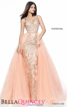 51240 prom glam peach bella quinces photography