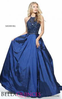51242 prom glam navy bella quinces photography