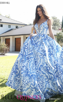 51267 prom glam white blue bella quinces photography