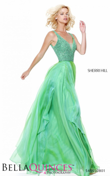 50801 prom glam green bella quinces photography